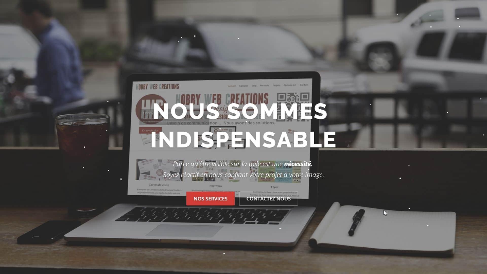 Visite du site demohwc.fr