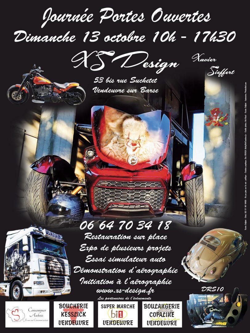 Affiche Portes Ouvertes Xs-Design