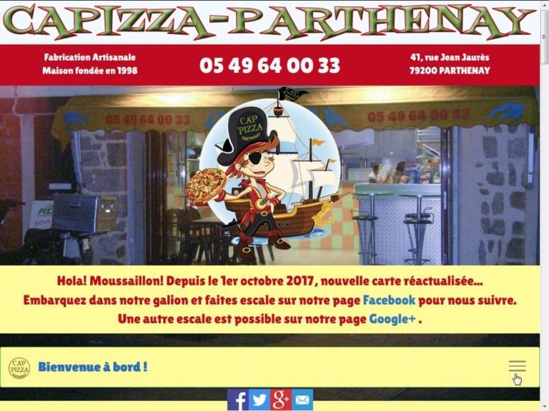 Création pour CAP-PIZZA à Parthenay(79)