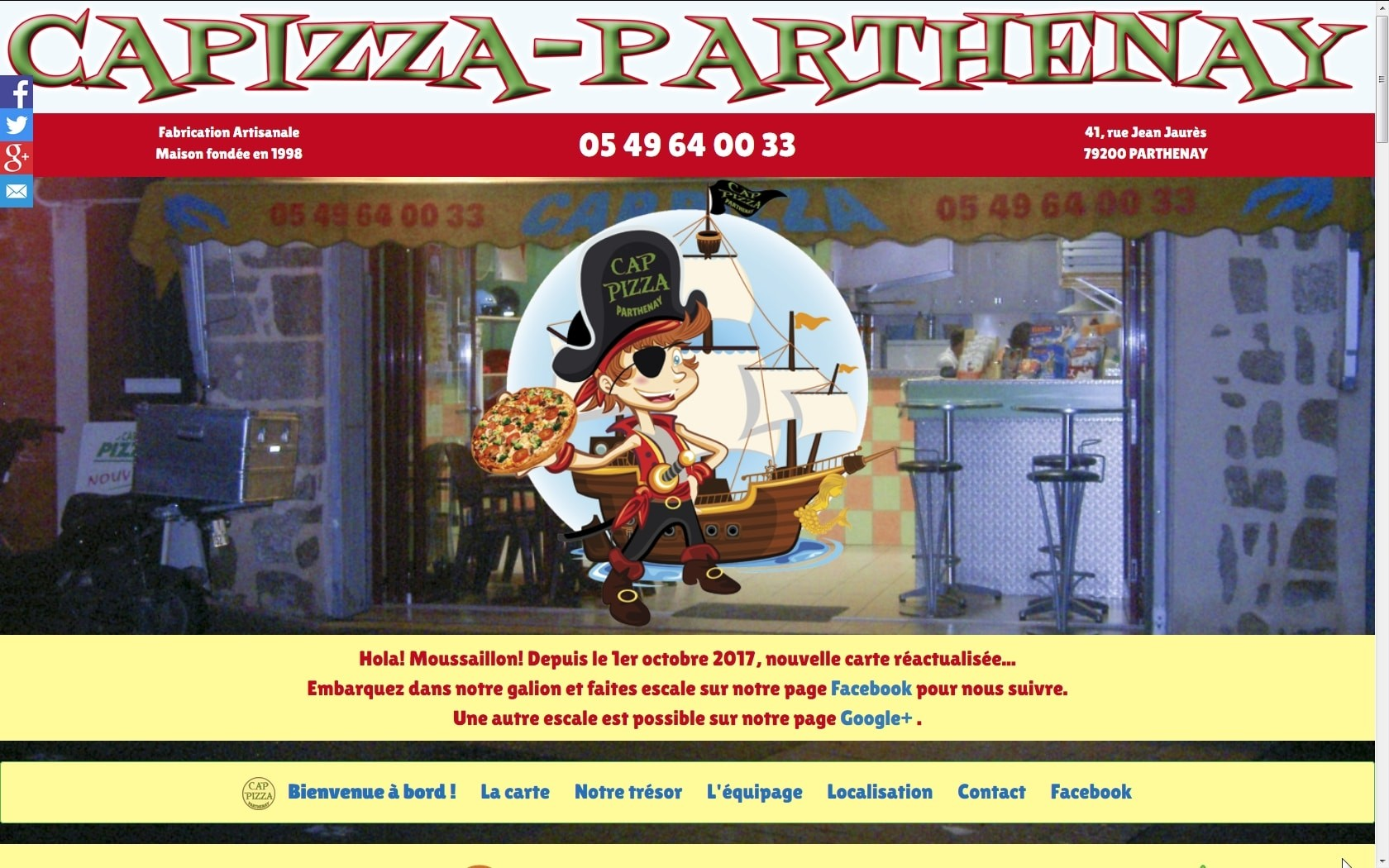 CapPizza Parthenay Ecran22