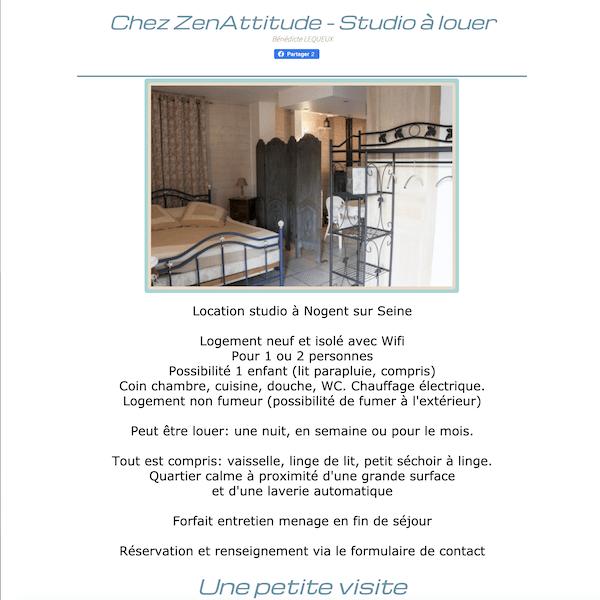 Site Chez-Zenattitude.fr