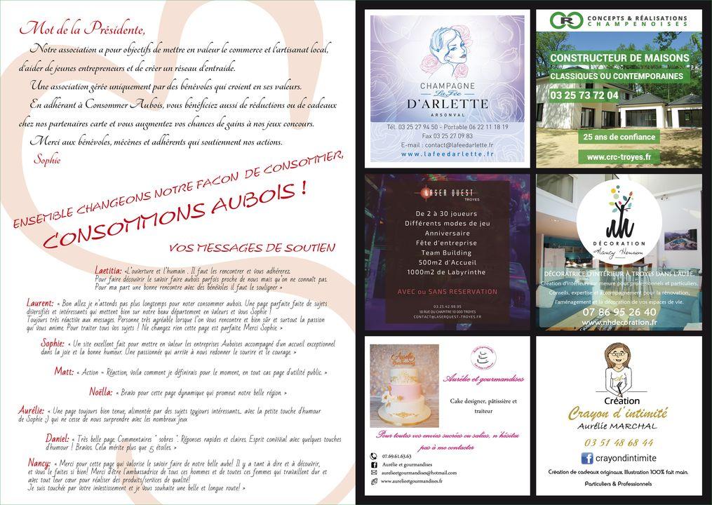 Dépliant pour Consommer Aubois - Page 2 - 3