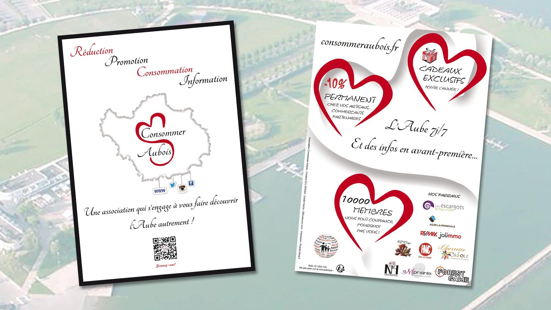 Présentation Flyer Consommer Aubois