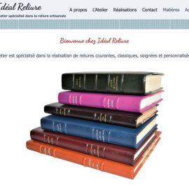 Site Idéal Reliure