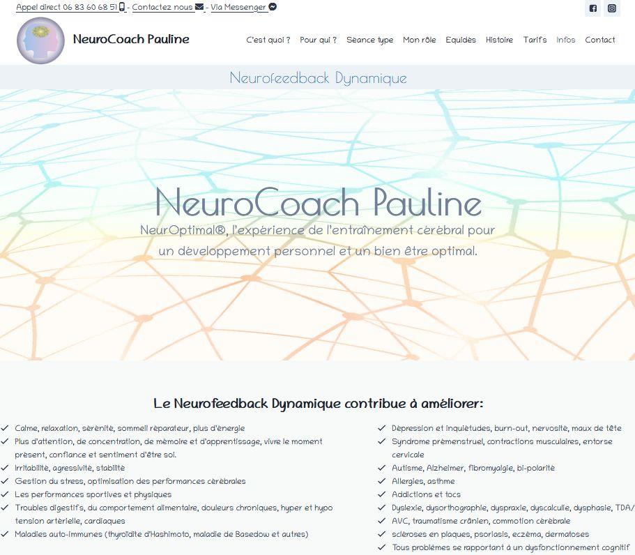 Site NeuroCoach Pauline