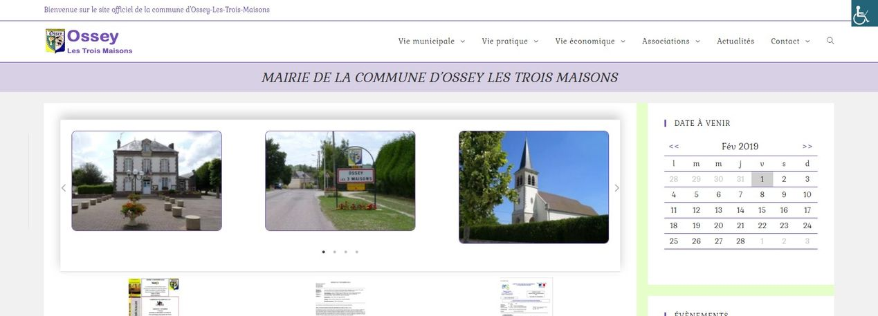 Site Ossey Les Trois Maisons