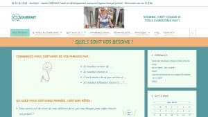 Site administrable www.sourifait.fr