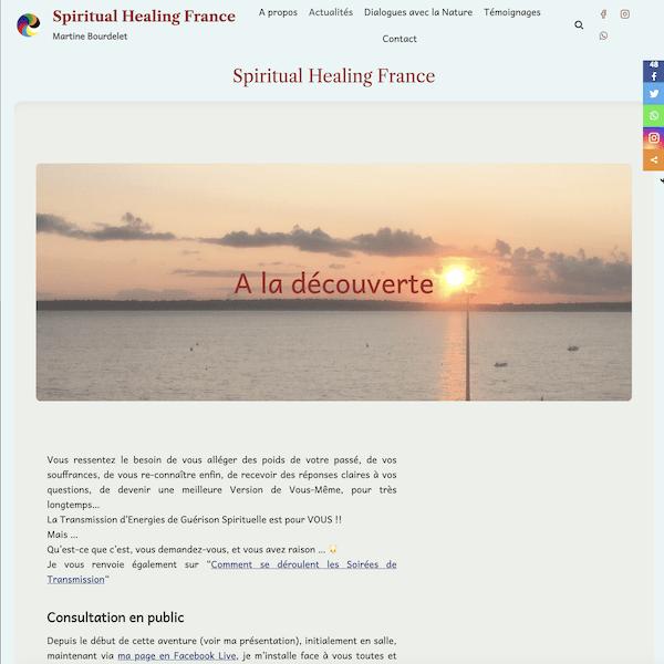 Site administrable spiritual-healing-france.fr