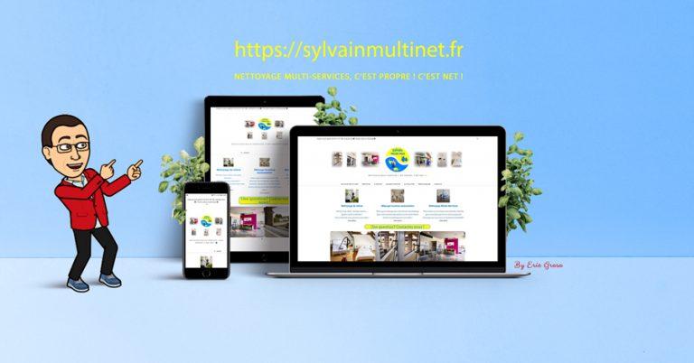 Refonte du site Sylvain Multi-net