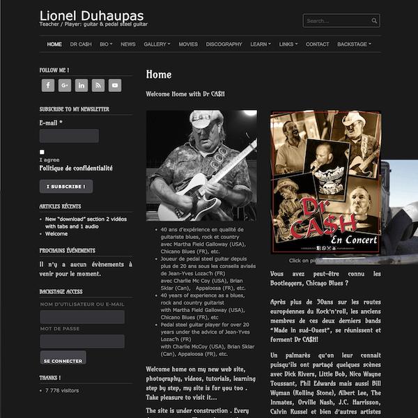 Site lionelduhaupas.com