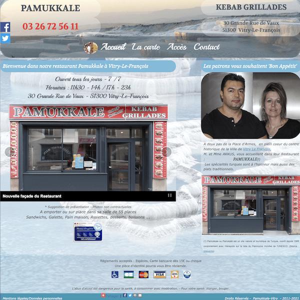 Site pamukkale-vitry.fr